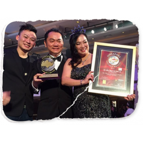Emerging Enterprise Award & Singapore Golden Brand Award